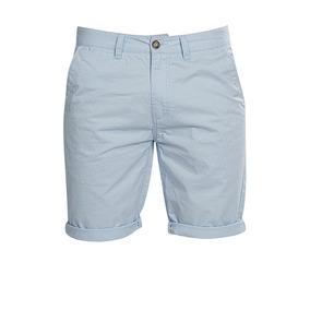 Bermuda Short Hombre Corta Casual Playa Lisas Gabardina Moda