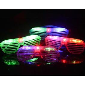 20 Lente Led Neon Luminoso Glow Uv Noche Animación