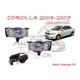 Halogenos Toyota Corolla 2004-2007 Japones