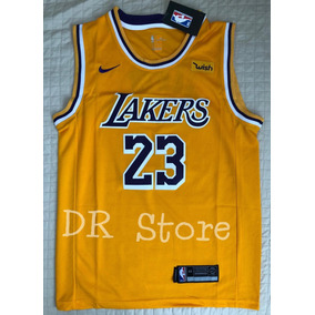 530e8427f0 Camisa Regata La Lakers Masculina Lebron James 23 - Oferta