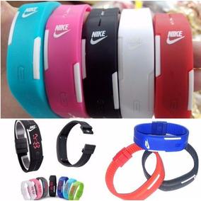 Pulseira Relógio Esportivo Led/moda Nike.