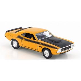 Dodge Challenger Rt 1970 Welly Metal Raridade