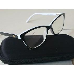 5588f743f0235 Sacoleiraki Armação Óculos Grau Branco Bifocal Multifocal - Óculos ...
