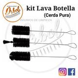 Cepillos Lava Botella - Kit X 3 Unidades