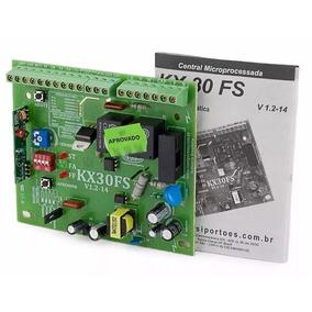 Central Placa De Comando P/ Portão Eletrônico Rossi Kx30fs