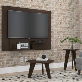 Painel Para Tv Enzo Plus 120x90 Cm - Malbec