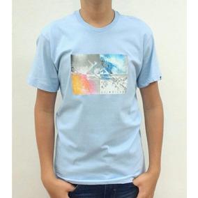 2808f3cb59 Blusao Quiksilver Azul - Camisas no Mercado Livre Brasil