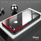 Funda Cristal Iphone Xs Max X Xs 6 7 8 6p 7p 8p + Cristal 9h