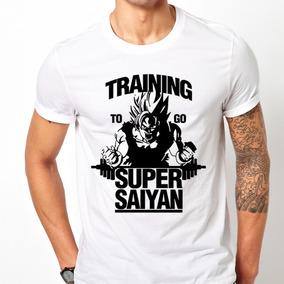 Playera Goku Gym Training Super Saiyan Entrena Goku