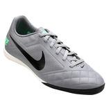 bd998c7946f Chuteira Futsal Nike Beco 2 Cinza Prata Branco 646433 016 - Futebol ...