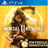 Mortal Kombat 11 Ps4 Digital Jugas Con Tu Perfil 1° + Metodo