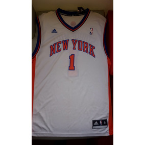 Camiseta De Basket adidas Original New York 754e948a4621e