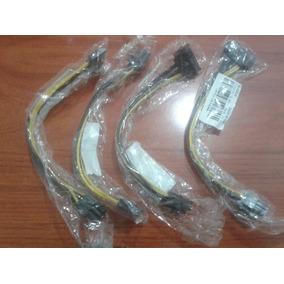 Cable Sata 15 Pin A Pci 6 Pin Tarjeta De Video Y Riser