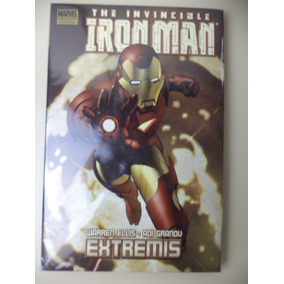 Importado Hq Iron Man Extremis Em Inglês