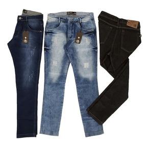 e5ed1a3ce Kit Calça Jeans Masculina - Calças Jeans Masculino no Mercado Livre ...