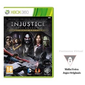 Injustice Gods Among Us Ultimate Xbox 360 Dvd Fisico Mxtgm