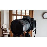 Camara Canon 7d + Lente Canon Ef 24-70 1:2.8 L Ii Usm