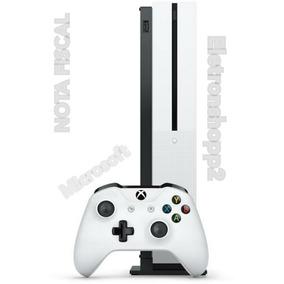 Xbox One S 1tb Slim Microsoft 4k + Nota Fiscal+ Garantia