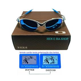 Óculos De Sol Oakley Plate Platinum Juliet - Óculos no Mercado Livre ... c8e9bd32a0