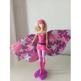 535b352baeb Boneca Barbie Filme Super Princesa Mattel Movimento Saia