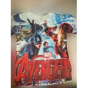 Polos Avengers, Hero , Dragon Ball Z, Para Niños Hermozos!!