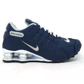 Tenis Nike Nz Masculino Foto Original Azul Azul