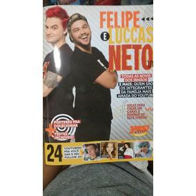 Livro Luccas Neto E Felipe Neto