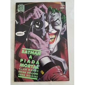 Batman A Piada Mortal 1º Edição Alan Moore 1988