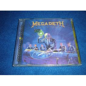 Megadeth / Rust In Peace Cd Con Bonus Nuevo C35