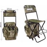 Cadeira Pesca Dobrável Com Mochila E Porta Varas - Até 125kg