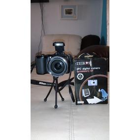 Camara Nikon Coolpix L100 Con Accesorios. Se Aceptan Cambios