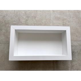 Nicho Para Banheiro Porcelanato Branca 40x30x10