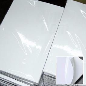 Papel Fotográfico Adesivo A4 115g À Prova D´água 20 Folhas