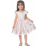 5d17803277 Vestido Rosa Petit Cherie Demi Perolas no Mercado Livre Brasil