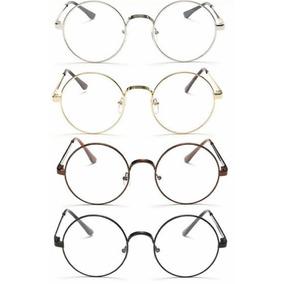 Armação Óculos Grau Redondo Lennon Harry Potter Aço Retro · 2 cores 368d8b3047
