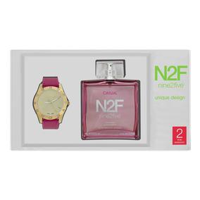Reloj Set Mujer + Perfume N2f Afgc12vtgl.set Watch It!