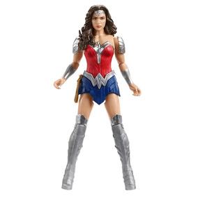 Boneca Mulher Maravilha 30cm Mattel Liga Da Justiça Fgg78