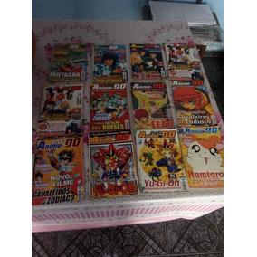 Promoção!!!revista Anime Do Lote+ Brindes!
