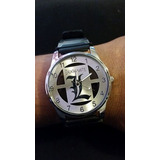 Reloj De L De Death Note Acero Inoxidable