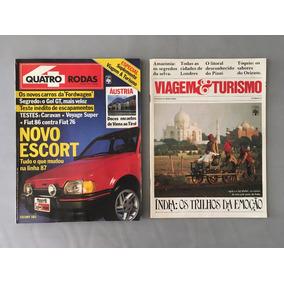 Revista Quatro Rodas - Agosto 1986 - Nº 313 Escort Fiat