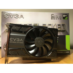 Placa De Video Evga Gtx 1050 2gb Ddr5