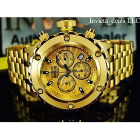 dec372f1ab9 Relógio Invicta Specialty Dourado 13977 Novo - Relógios De Pulso no ...