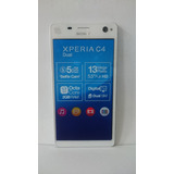 Celular Sony Xperia C4 Dual Vitrine Original Branco
