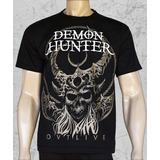 Camiseta De Banda - Demon Hunter - Outlive
