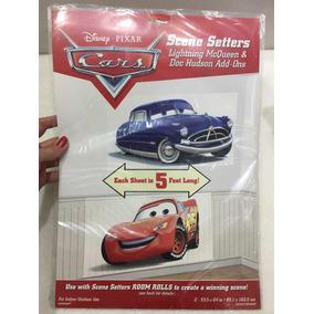 4 Poster Cenários Do Filme Carros Gigantes Da Disney