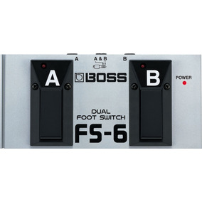 Pedal Seletor Footswitch Boss Fs-6 Dual Duplo Fs6 C/notafisc