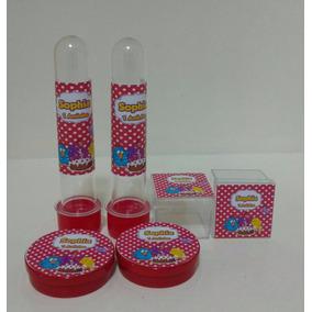 Kit 60 Itens Personalizados -tubetes+caixinhas Acrílico 4x4+