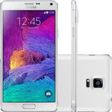 Smartphone Samsung Galaxy Note 4 32gb 16mp Branco (vitrine)