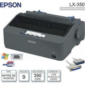 Impresora Matriz De Punto Epson Modelo Lx-350 (9 Pines)