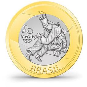 Moeda Comemorativa Do Judo